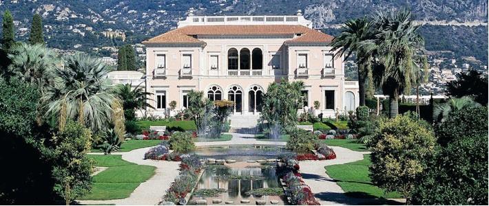 Villa jardins ephrussi de rothschild mus es loisirs for Jardin villa rothschild